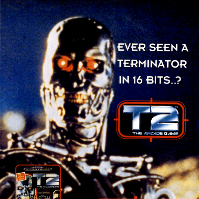 Image For Post Terminator 2: The Arcade Game - Video Game From The Early 90's