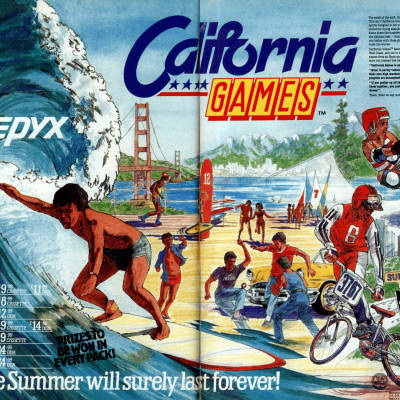 Image For Post California Games - Video Game From The Late 80's