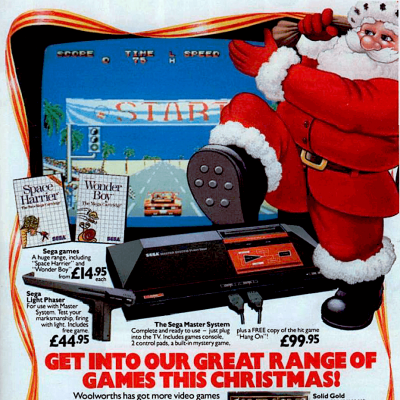 Woolworths Advertisement From The Late 80's For The Sega Master System