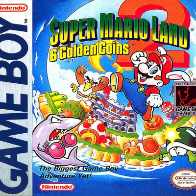 Super Mario Land 2: 6 Golden Coins - Video Game From The Early 90's