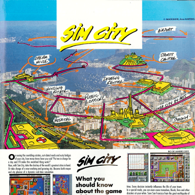 Image For Post SimCity - Video Game From The Late 80's