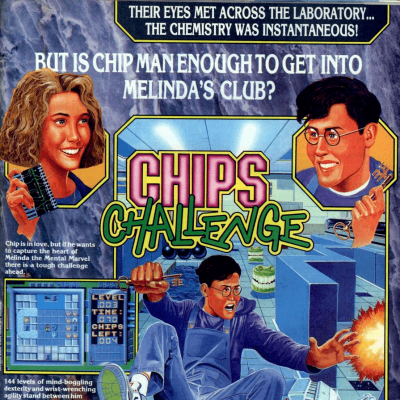 Image For Post Chips Challenge - Video Game From The Early 90's