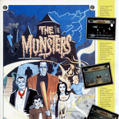 Image For Post The Munsters - Video Game From The Late 80's