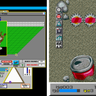 Image For Post Sim Ant - Video Game From The Early 90's