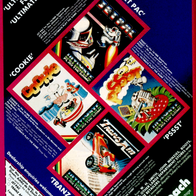 Image For Post Ultimate Play The Game Software Compilation - Video Game Ad from the early '80s