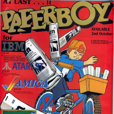 Image For Post Paperboy - Video Game From The Late 80's