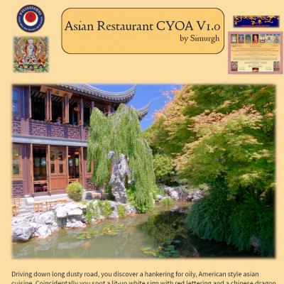 Asian Restaurant CYOA V1