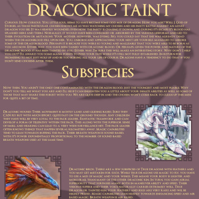 Image For Post Draconic Taint CYOA