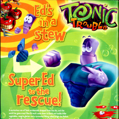 Tonic Trouble - Video Game From The Late 90's