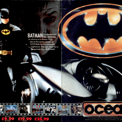 Image For Post Batman: The Movie - Video Game From The Late 80's