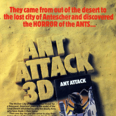 Image For Post Ant Attack - Video Game From The Early 80's