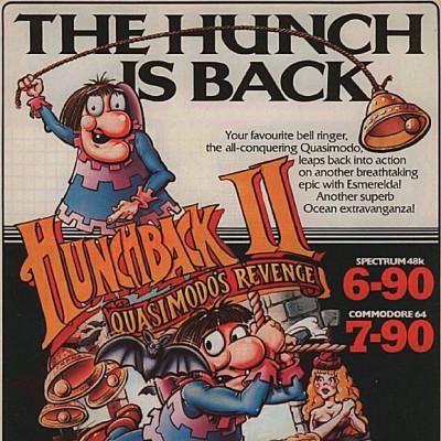 Hunchback II: Quasimodo's Revenge - Video Game From The Early 80's