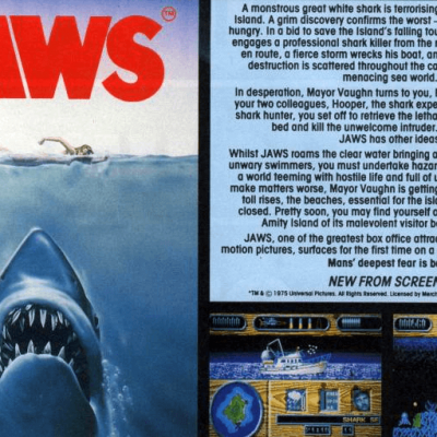 Image For Post Jaws - Video Game From The Late 80's
