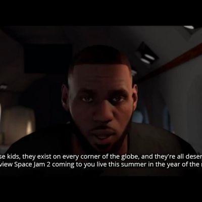 NBA 2K20 - Lebron James Deleted Scene