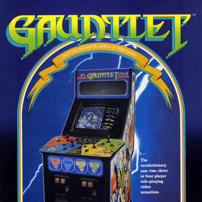 Image For Post Gauntlet - Video Game From The Mid 80's