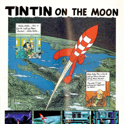 Image For Post TinTin On The Moon - Video Game From The Late 80's