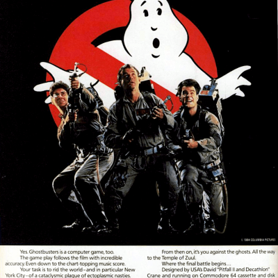 Image For Post Ghostbusters - The Computer Game - Video Game From The Mid 80's