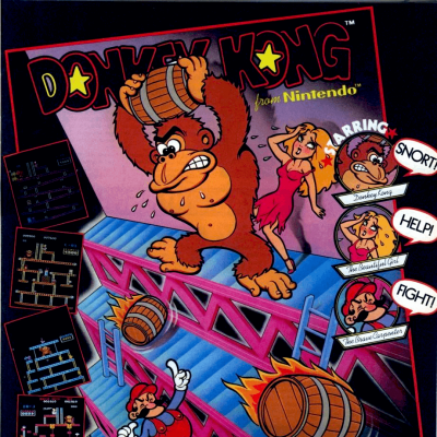 Image For Post Donkey Kong - Video Game From The Mid 80's