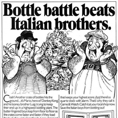 Image For Post Nintendo Game & Watch Mario Bros - Video Game Handheld From The Early 80's