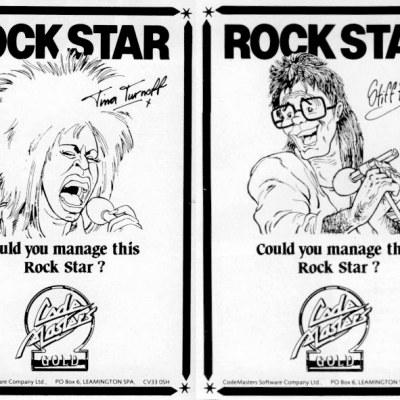 Image For Post Rock Star Ate My Hamster - Video Game From The Late 80's