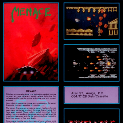 Image For Post Menace - Video Game From The Late 80's