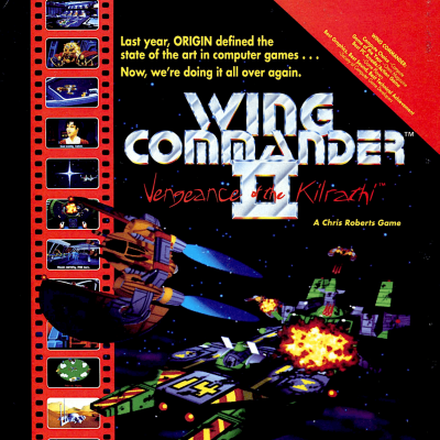 Image For Post Wing Commander 2: Vengeance of the Kilrathi - Video Game From The Early 90's
