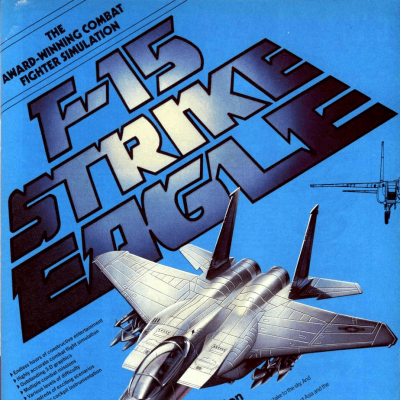 Image For Post F-15 Strike Eagle - Video Game From The Mid 80's