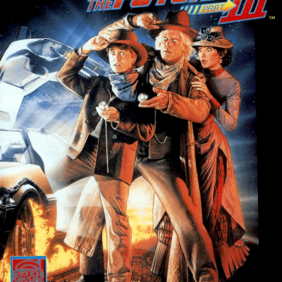 Image For Post Back To The Future Part 3 - Video Game From The Early 90's