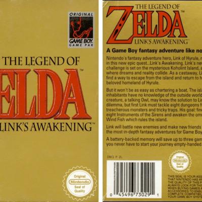 The Legend of Zelda: Link's Awakening - Video Game From The 90's