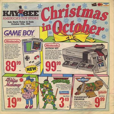 Image For Post Kay Bee Toy Store Advertisement From 1989