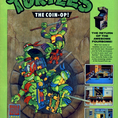 Image For Post Teenage Mutant Ninja Turtles: The Coin-Op/Arcade - Video Game From The Late 80's