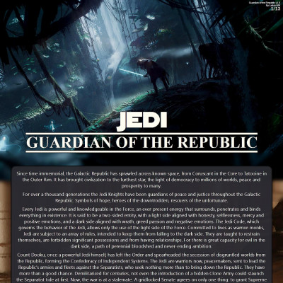 Image For Post Jedi: Guardian of the Republic CYOA v1.0