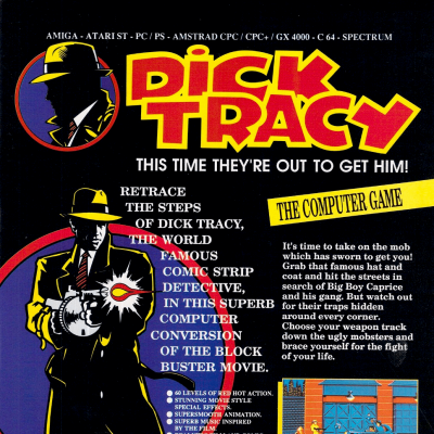 Image For Post Dick Tracy - Video Game From The Early 90's