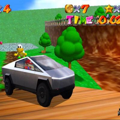 Image For Post When a 2019 car has fewer polygons than a 1996 game