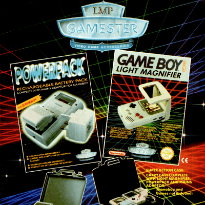 Image For Post LMP Gamester Video Game Accessory - Advertisement From Video Game Magazine In The Early 90's (Game Boy/SNES)