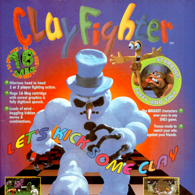 Image For Post Clay Fighter - Video Game From The 90's