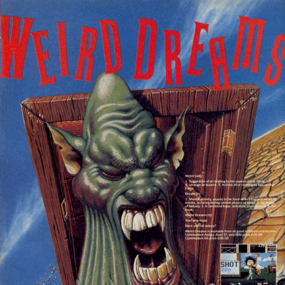 Image For Post Weird Dreams - Video Game From The Late 80's