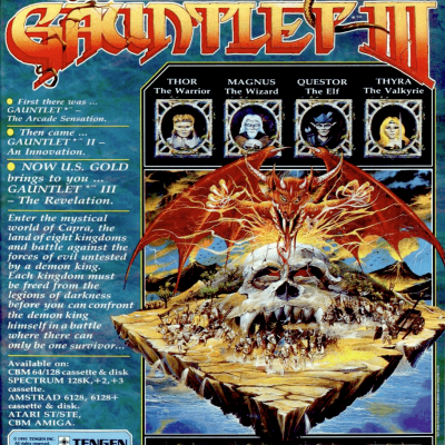Gauntlet 3: Video Game From The Early 90's