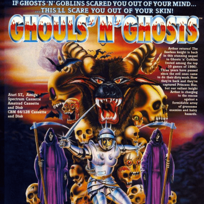 Image For Post Ghouls 'N Ghosts - Video Game From The Late 80's