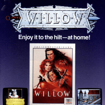 Image For Post Willow - Video Game From The Late 80's