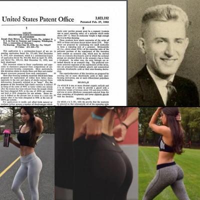We salute you, Mr. Leggings Inventor