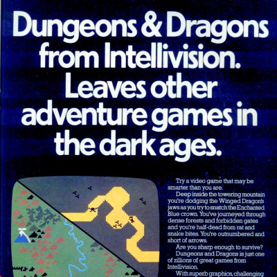 Image For Post Advanced Dungeons & Dragons - Video Game From The Early 80's