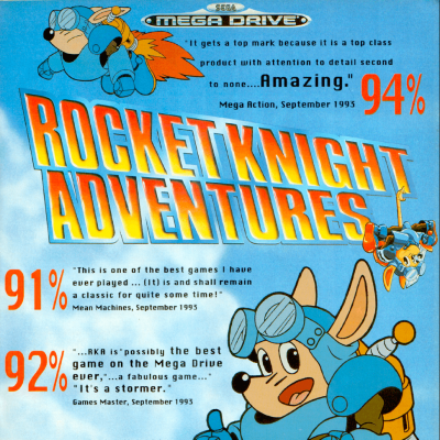 Image For Post Rocket Knight Adventures - Video Game From The Early 90's