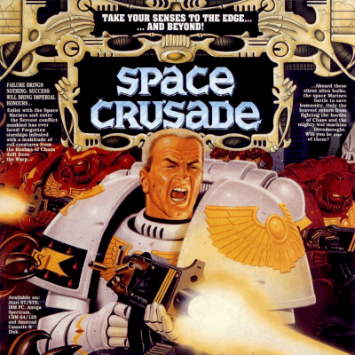 Image For Post Space Crusade & The Voyage Beyond Expansion Edition - Video Game From The Early 90's