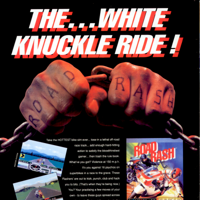 Image For Post Road Rash - Video Game From The Early 90's