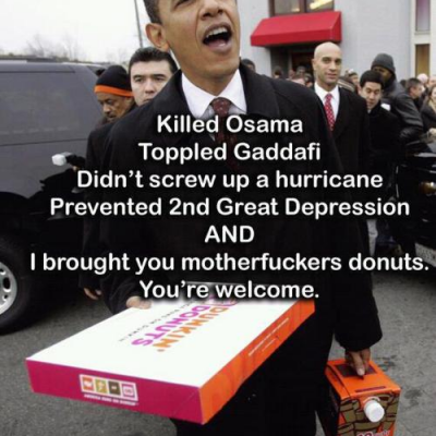 Image For Post The doughnuts got me.