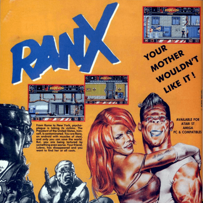 Image For Post Ranx: The Video Game - Video Game From The Early 90's