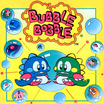 Image For Post Bubble Bobble - Video Game From The 80's