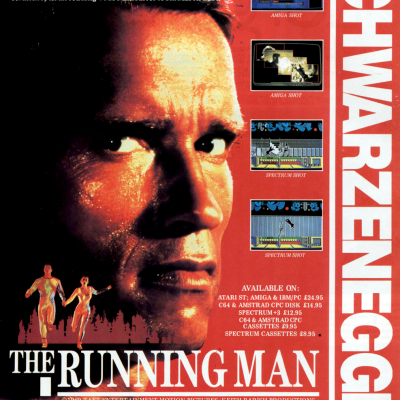 The Running Man - Video Game From The Late 80's