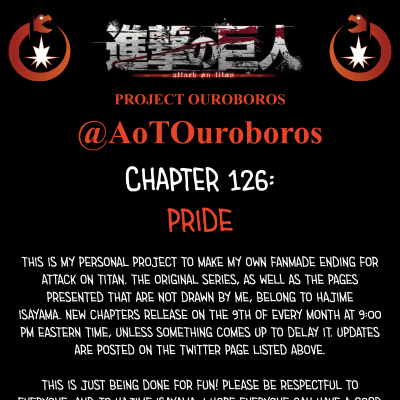 Image For Post Attack on Titan Project Ouroboros: Chapter 126 - Pride